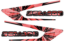 Graphic Replacement Kit Decal Boat Sportster Sea Doo Speedster 150 Electric