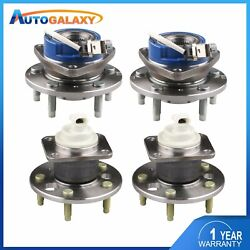 4x Front+rear Wheel Hub Bearing For Chevy Impala Buick Allure PontiacGrand Prix