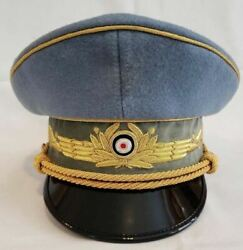 Wwii German Military Air Force Chief Staff Generals Officers Reproduction Hat Ca