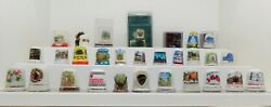 Collectible Assorted Thimbles From The Uk And Us - Lot Of 29