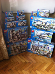Lego City Police Super-pack Collection 2005-2008 7237-1,7237-2, 7744etc+