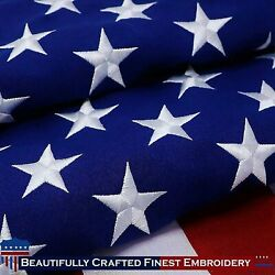 American Flag 6x10 Ft Indoor/outdoor Embroidered Embroidered Stars Usa Flag