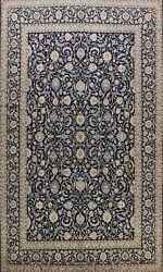 Excellent Vintage Ardakan Floral Hand-knotted Area Rug Kork Wool Oriental 9and039x13and039