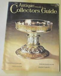 The Antique Dealer And Collectors Guide August 1975 - Masons Teapots