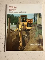 Rare Catalog White-oliver Tractors And Equipment Specifications 36 Pg1967 Brochure