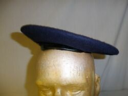 R25c-49 Vietnam Rvn Army Officer Blue Beret Named Size Small Parachute Liner