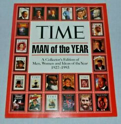 Vintage 1994 Time Magazine Man Of The Year Collector's Edition 1927-1993 Rare