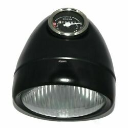 Classic Headlight Assey 5 1/2 With Bulb Holder And Speedometer Luna Moped 60km/h