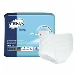 Tena Extra Protective Pull On Underwear Moderate Absorbency Case Of 64
