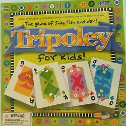 Nib Tripoley For Kids Game Of Snap Fish And War Family Card Game