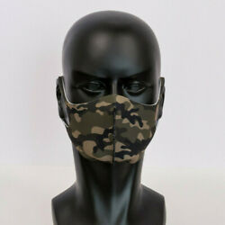 Andnbspcamouflage Print Washable Neoprene Face Masks 5 Masks Individually Poly Bagged