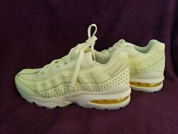 Nike Air Max 95 Se Gs Citron Tint Running Shoes Aj1899 800 Size 6y