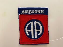 Pk641 Original Vietnam Us Army 82nd Airborne Division Patch Wc7