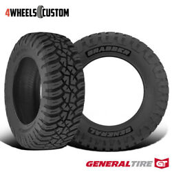 2 X New General Grabber X3 265/70r17 121/118q Off-road Max Traction Tire