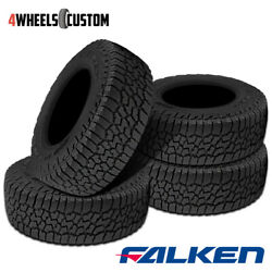 4 X Falken Wild Peak A/t3w 235/75r15 109t Rf Rbl All Terrain Any Weather Tires