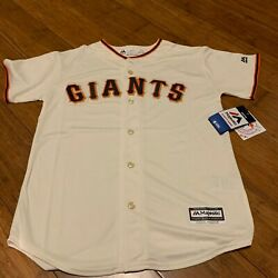 San Francisco Sf Giants Majestic Jersey Youth New With Tags