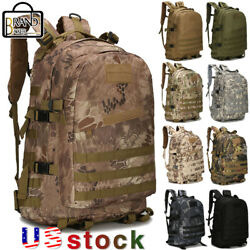 40L Military Tactical Backpack Molle Assault Outdoor Hiking Tracking Camping Bag $18.99