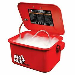 Torin Big Red T10035 3.5 Gal Steel Cabinet Portable Parts Washer And Electric Pump