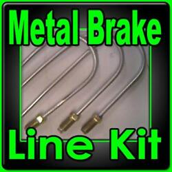 Complete Brake Line Kit Plymouth 1946 1947 1948 1949 1950 -replace Rusted Lines