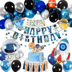 Birthday Party Supplies Decoration Spacec Birthday Party for Boy or grils $23.99