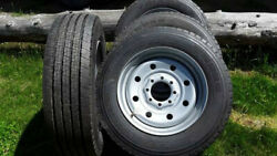4 Brand New Triangle Tr685 Trailer Tires 225/70r19.5 14 Ply