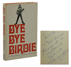 Bye Bye Birdie Signed By Michael Stewart First Edition 1st 1962 Autographed