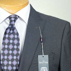 36s Savile Row Black And Silver Suit Separate 36 Short Mens Suits - Ss38
