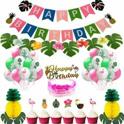 Birthday Party DecorationSummer Hawaii BeachThemed Party for kid adults $25.99