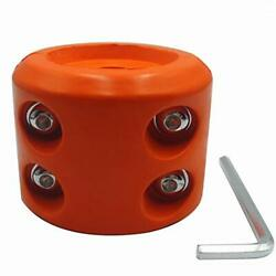 Winch Cable Hook Stopper Rubber Winch Line Saver With Allen Wrench Orange