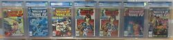 Master Of Kung Fu Cgc Lot, 7 Books, 5 9.8 2 9.6, 31,96,99,119x2,120 And 121