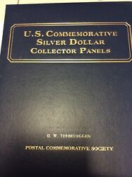 Us Commerative Siver Dollar Collector Panels
