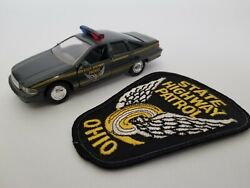 143 Diecast Police Cruiser And Agency Police Patch Ohio State Highway Patrol