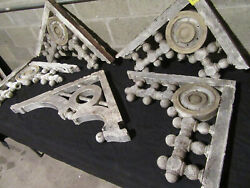 5 Antique Gingerbread Porch Brackets Corbels Architectural Salvage