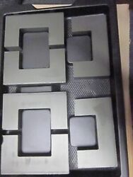 Large Ferrite U Core 1x Square By 2 1/4 By 4 Outside Case Of 18 Pieces