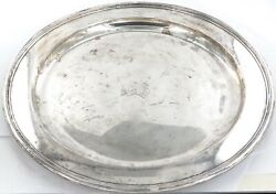 .1928 And Co Sterling Silver Large Round Tray. 830g