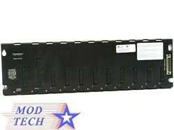 Ge Fanuc Ic693chs391e 10 Slot Expansion Base Plate Used Discontinued
