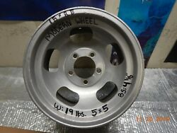 Vintage 15x8-1/2 Modern Slot Mag Wheel 5 On 5 Chevy Van/truck Ford/chevy Cars