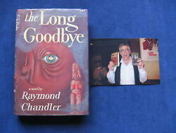 The Long Goodbye By Raymond Chandler - Signed By Elliott Gould 1st American Ed.