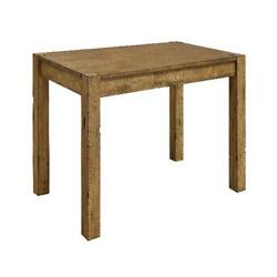 Rustic Dining Table Desk Solid Wood Country Farmhouse Kitchen Distressed Design