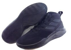 Mens Adidas Own The Game Ee9642 Black Basketball Sneakers Shoes