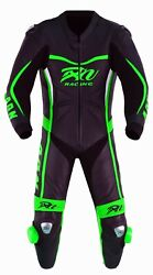 Black Motorcycle Riding Suits Cow Hide Leather Made To Measure Bespoke Design Ce