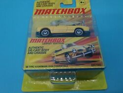 Matchbox Lesney Edition And03969 Type 14 Karmann Ghia Convertible New In Package