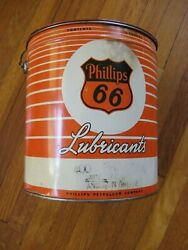 Phillips 66 Grease Can 10 Pound Lb