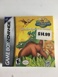 Brand New Sealed Land Before Time Into The Mysterious Beyond Gameboy Advance