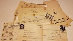 1930and039s German Jewish Academic Forced Out Of Germany Documents Wwii Anti Semitic