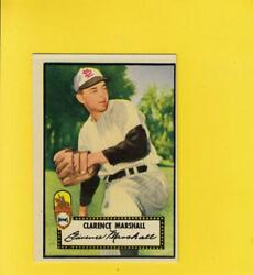 1952 Topps 174 Cuddles Marshall St. Louis Browns Ex Rc Rookie Lot 13305