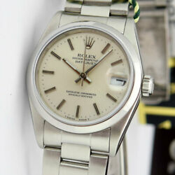Rolex Lady Datejust 31mm Stainless Steel Silver Index 68240 - Watch Chest