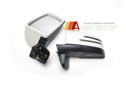 Arrow Led White Side Mirrors Set 6 Function Fits 1986-2012 Mercedes W463 G-class