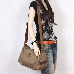 Fashion Womens Shoulder Bag Satchel Crossbody Bag Messenger Canvas Travel Totes $41.99
