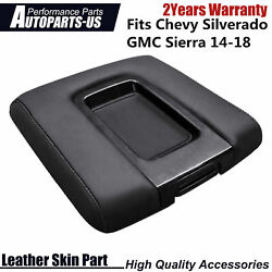 For Chevy Silverado Gmc Sierra 14-18 Console Lid Armrest Replacement Cover